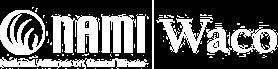 NAMI Waco Logo in White
