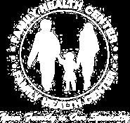 Family Health Center Logo in White