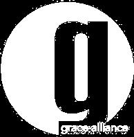 Grace Alliance Logo in White