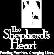 The Shepherds Heart Logo in White