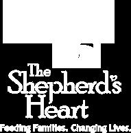 The Shepherd's Heart Charity Champion Winner - White Logo