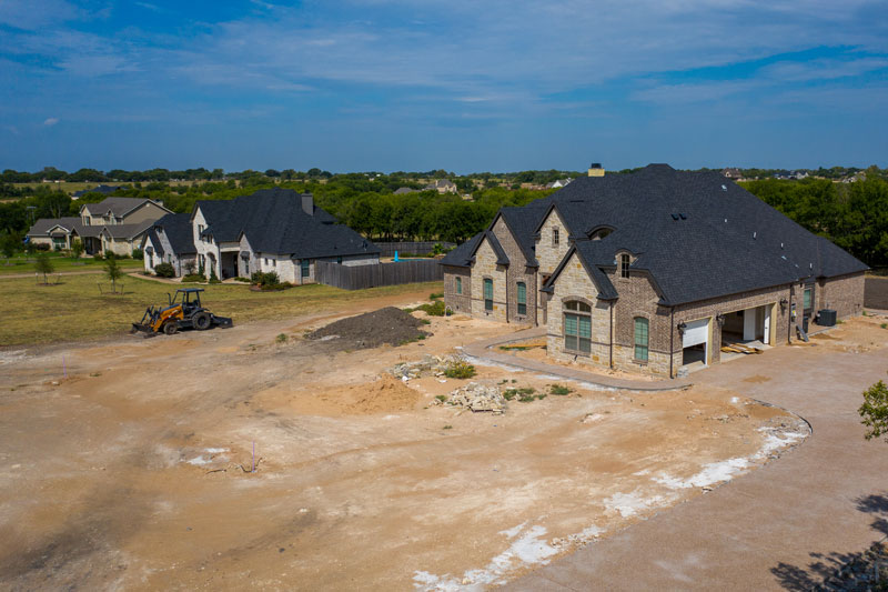 new home construction in waco