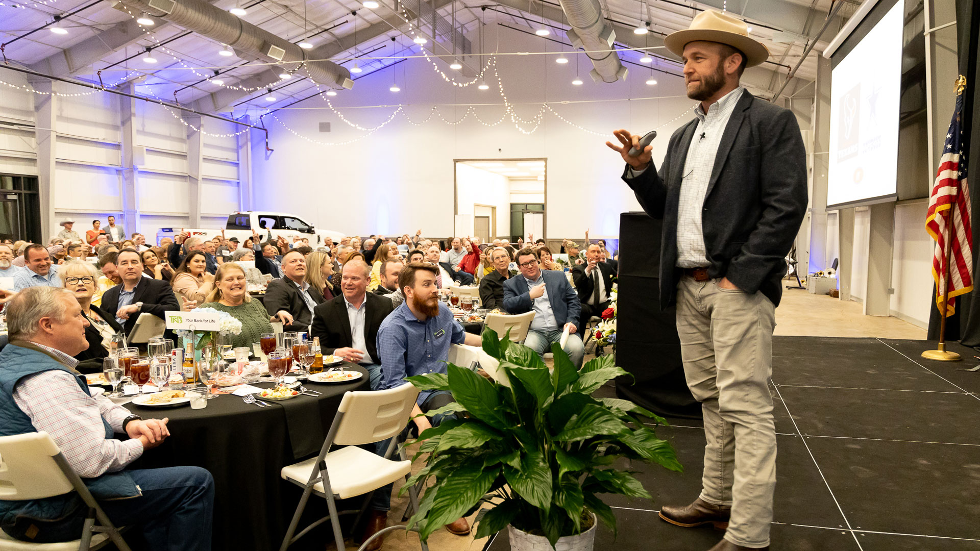 the daytripper speaks at the mcgregor chamber